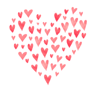 Cute hearts png. Via tumblr uploaded by