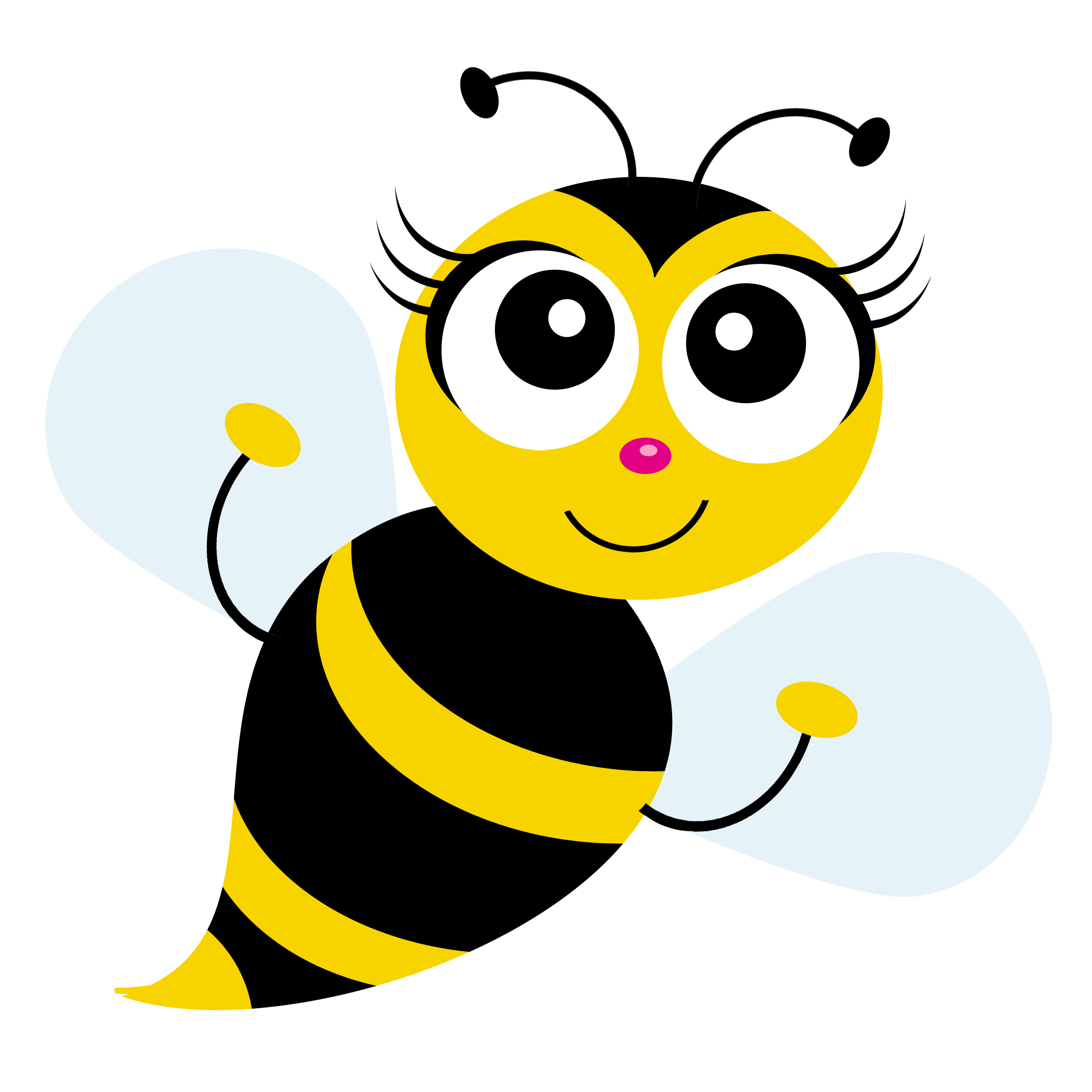Cute honey bee png. Clipart crazywidow info