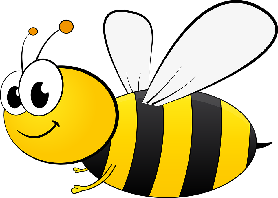 Cute honey bee png. Spelling special tag day