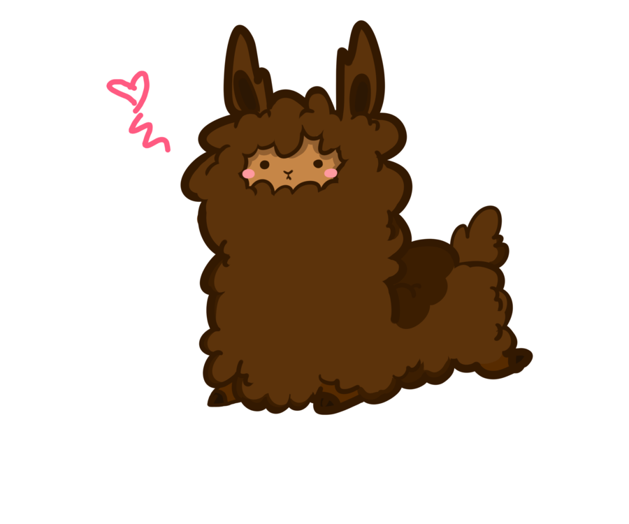 Cute llama png. Collection of fluffy