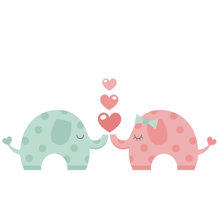 elephants svg silhouette cameo