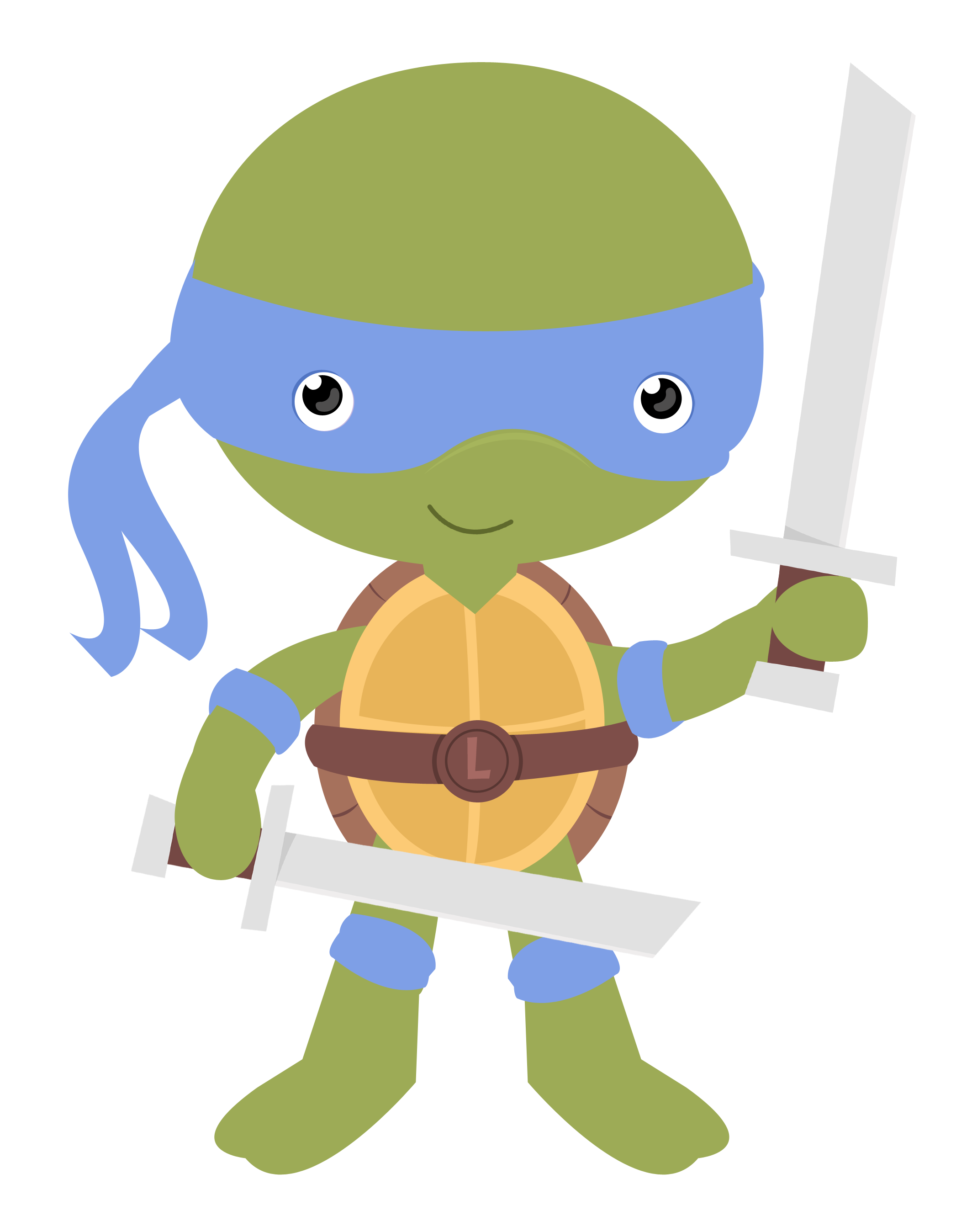 Cute ninja png. Tartarugas cat teenage turtle