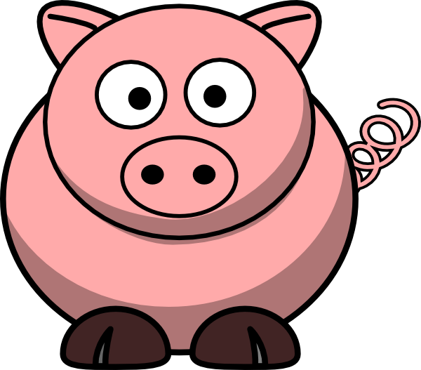 Cute pig png. Clip art at clker