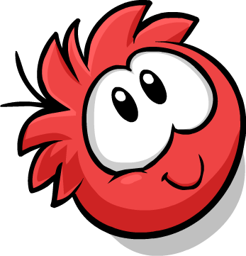 Cute png. Image red puffle club