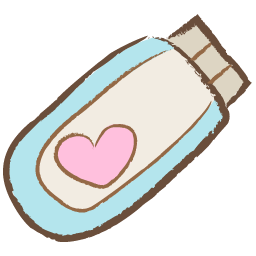 Cute png icons. Usb heart icon free