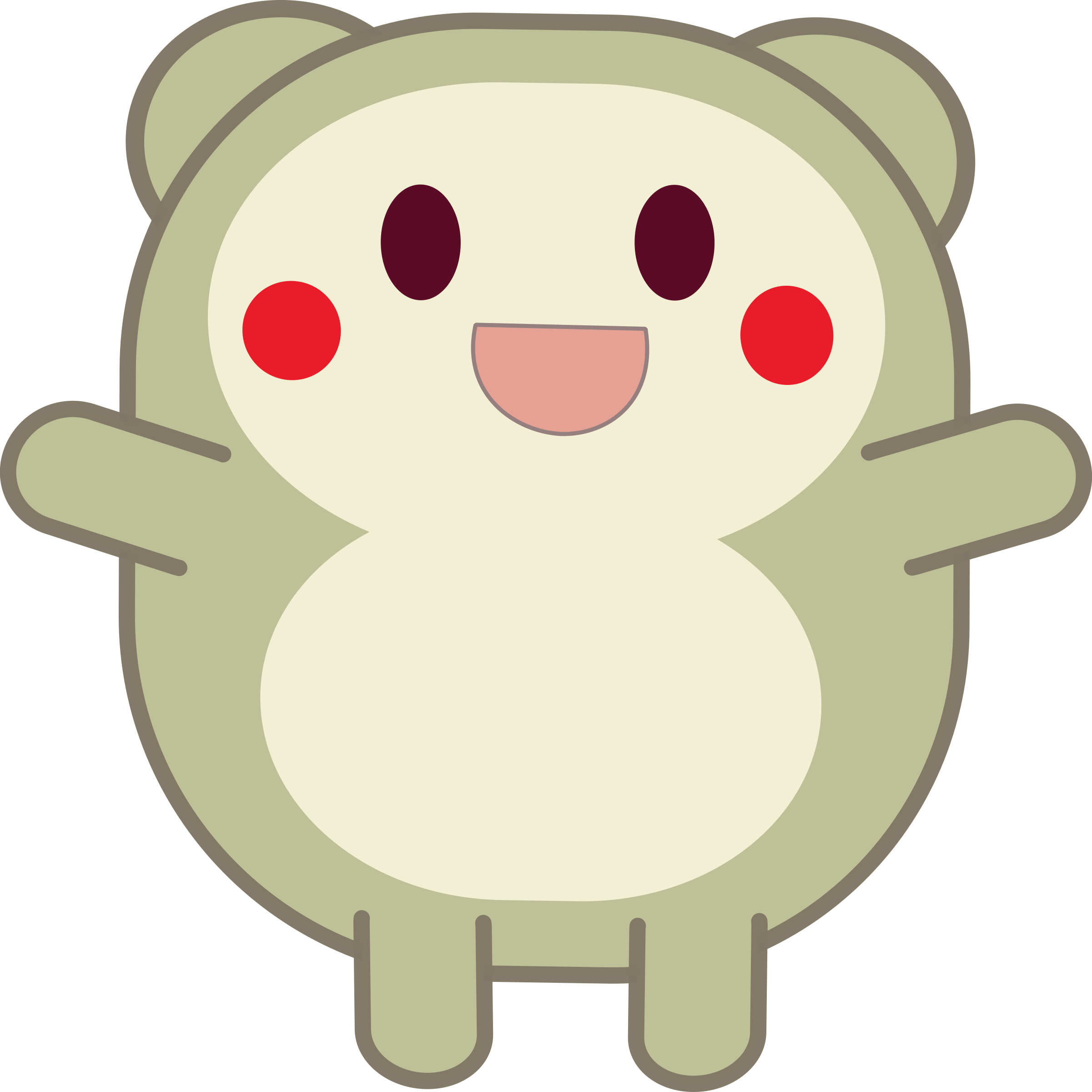 Cute png images. Grey critter icons free