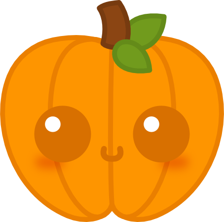 Cute pumpkin png. Kawaii by amis on