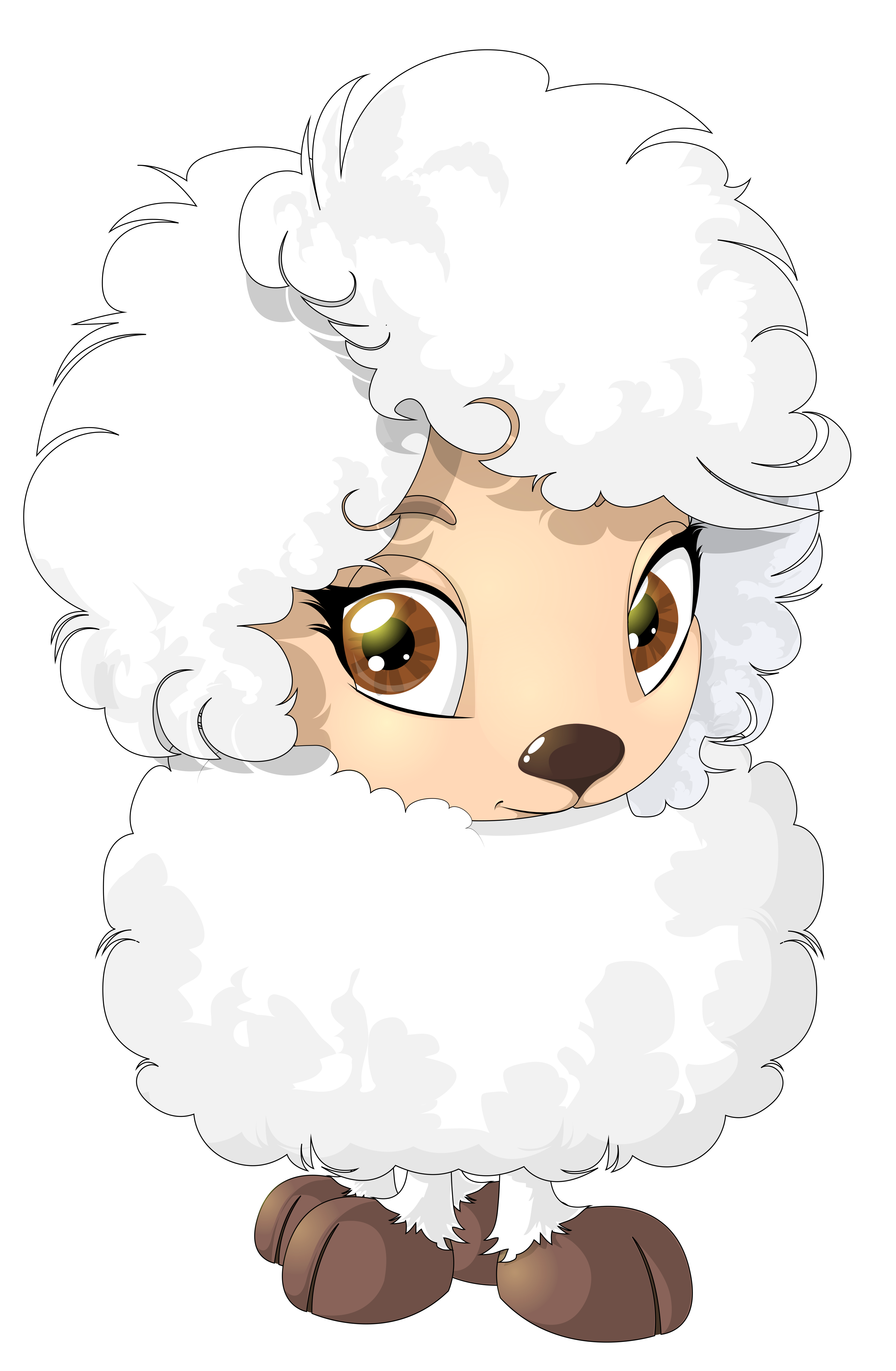 Cute sheep png. Clipart picture gallery yopriceville
