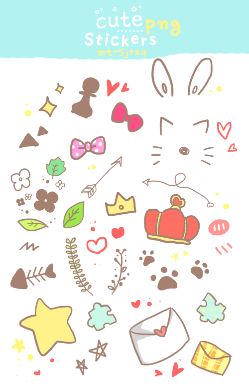 Cute sticker png. Stickers by sujushinki on