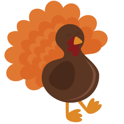 Svg cutting file for. Cute turkey png transparent