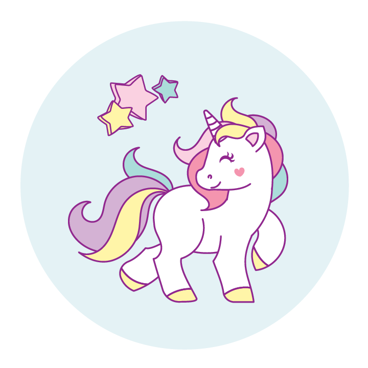 Cute unicorn png. Phone pogs
