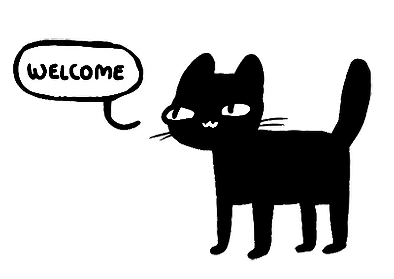 Cute welcome png. Cat gatito tumblr report
