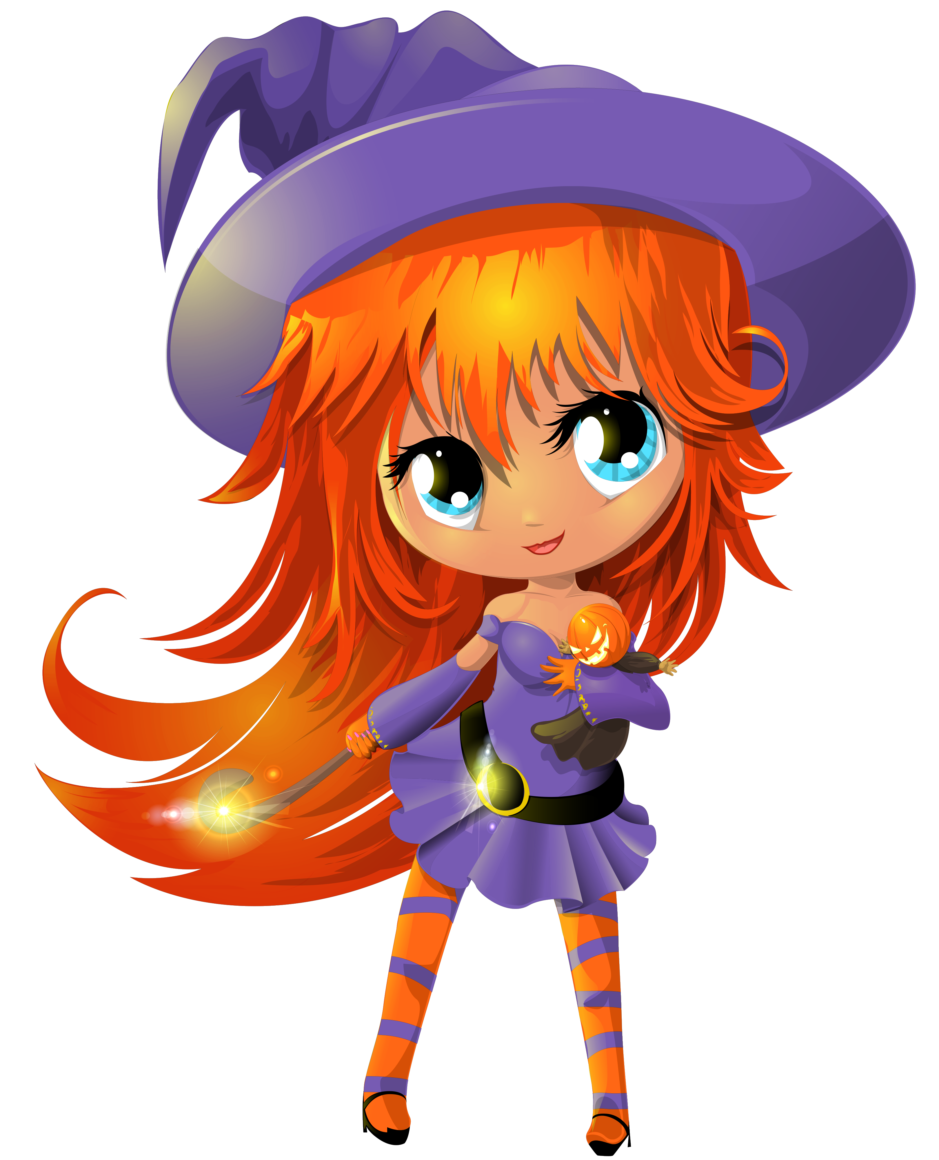 Cute witch png. Transparent clipart gallery yopriceville