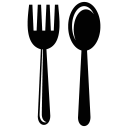 Vector spoon eating. Fork icon myiconfinder breakfast