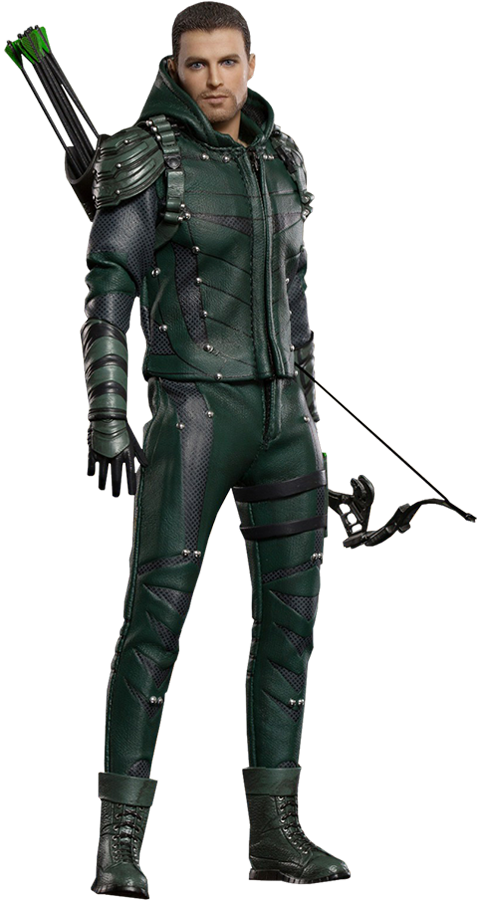 Cw green arrow png. The deluxe version figure