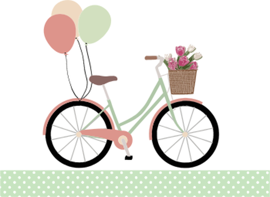 Cycle clipart. Cliparts ladies
