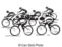 Race illustrations and clip. Cycle clipart bicycle drawing image transparent download