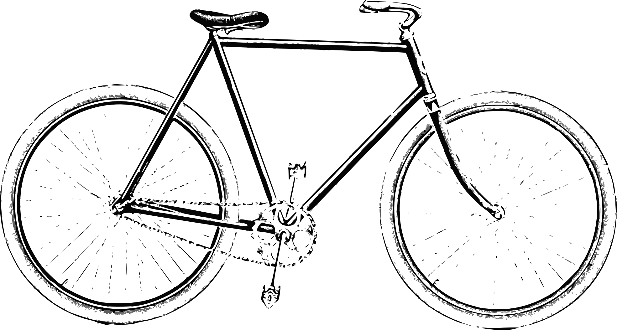 Cycle clipart old bicycle. Free bike cliparts download