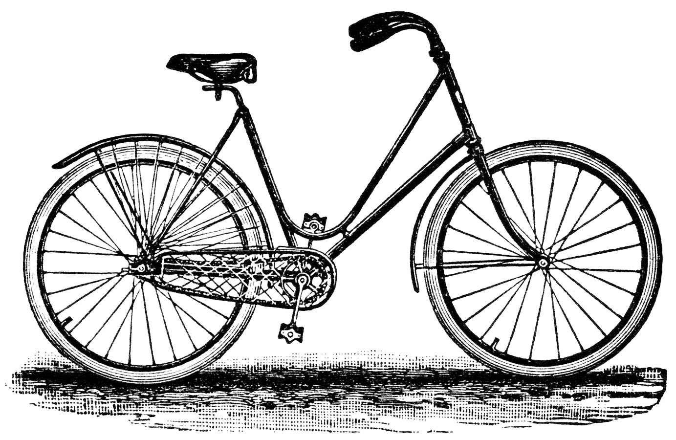 Cycle clipart old bicycle.