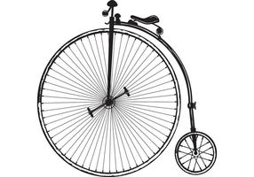 Cycle clipart old bicycle. Vintage free vector art png transparent download