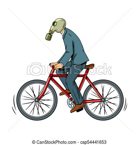Cycle clipart pop. Cycling with bad ecology picture download