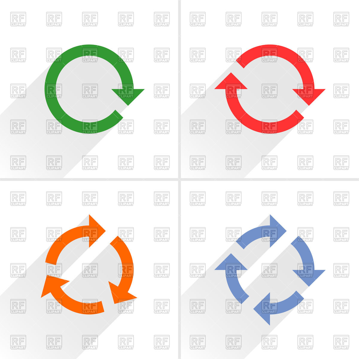 And refresh symbols round. Cycle clipart rotation jpg royalty free stock