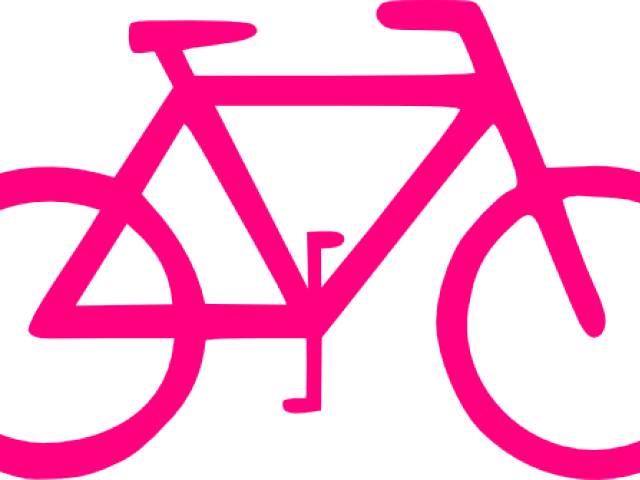 Cycle vector pink bike. Clipart graphics illustrations free