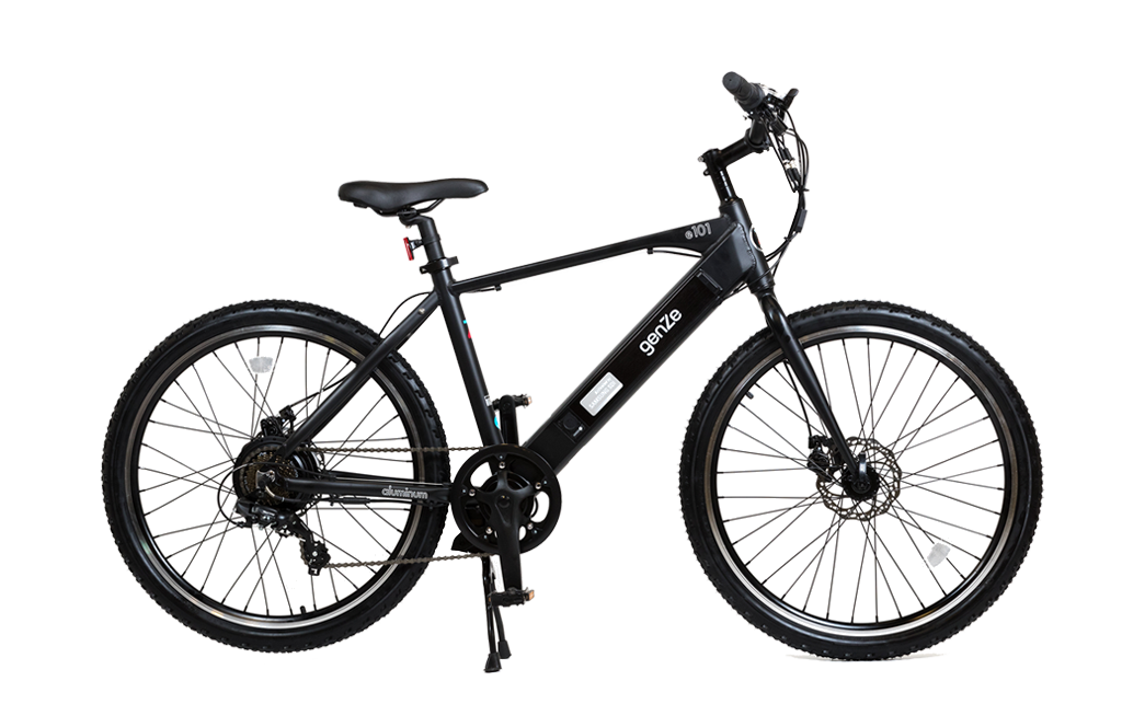 Vector ebike white. Electric scooters bikes genze