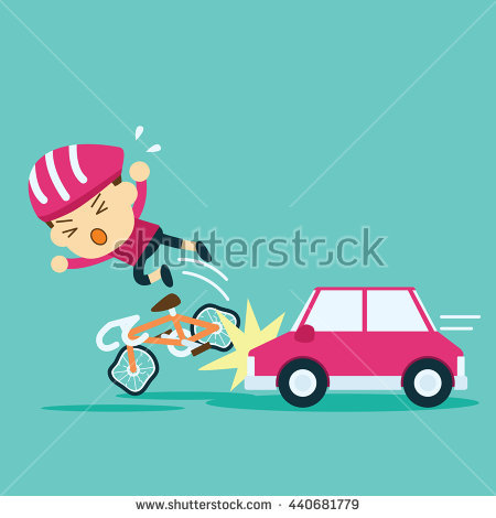 Accident crash cyclist ride. Cycling clipart car bike jpg free download