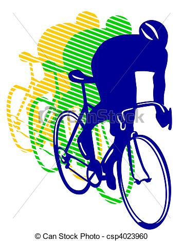 Cycling clipart cycling competition. Racing bicycle csp banner