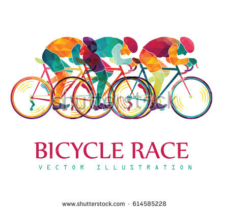 Race colorful background cyclists. Cycling clipart cycling competition clipart transparent stock