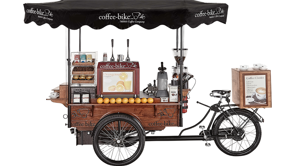 Cycling clipart girl paris. Coffee bike mobile company