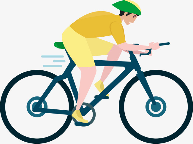 Bicycle cartoon png image. Cycling clipart man clipart free download