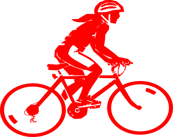 Bicycle clip art at. Cycling clipart recreation jpg royalty free library