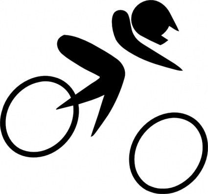 Cycling clipart sport. Free download of olympic clipart transparent library