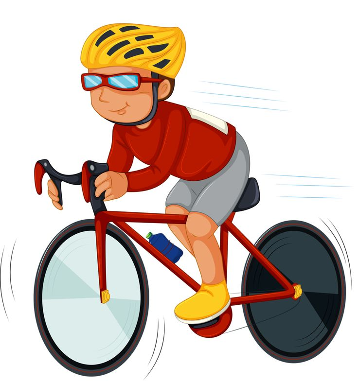 best deportes y. Cycling clipart sport clip art black and white library