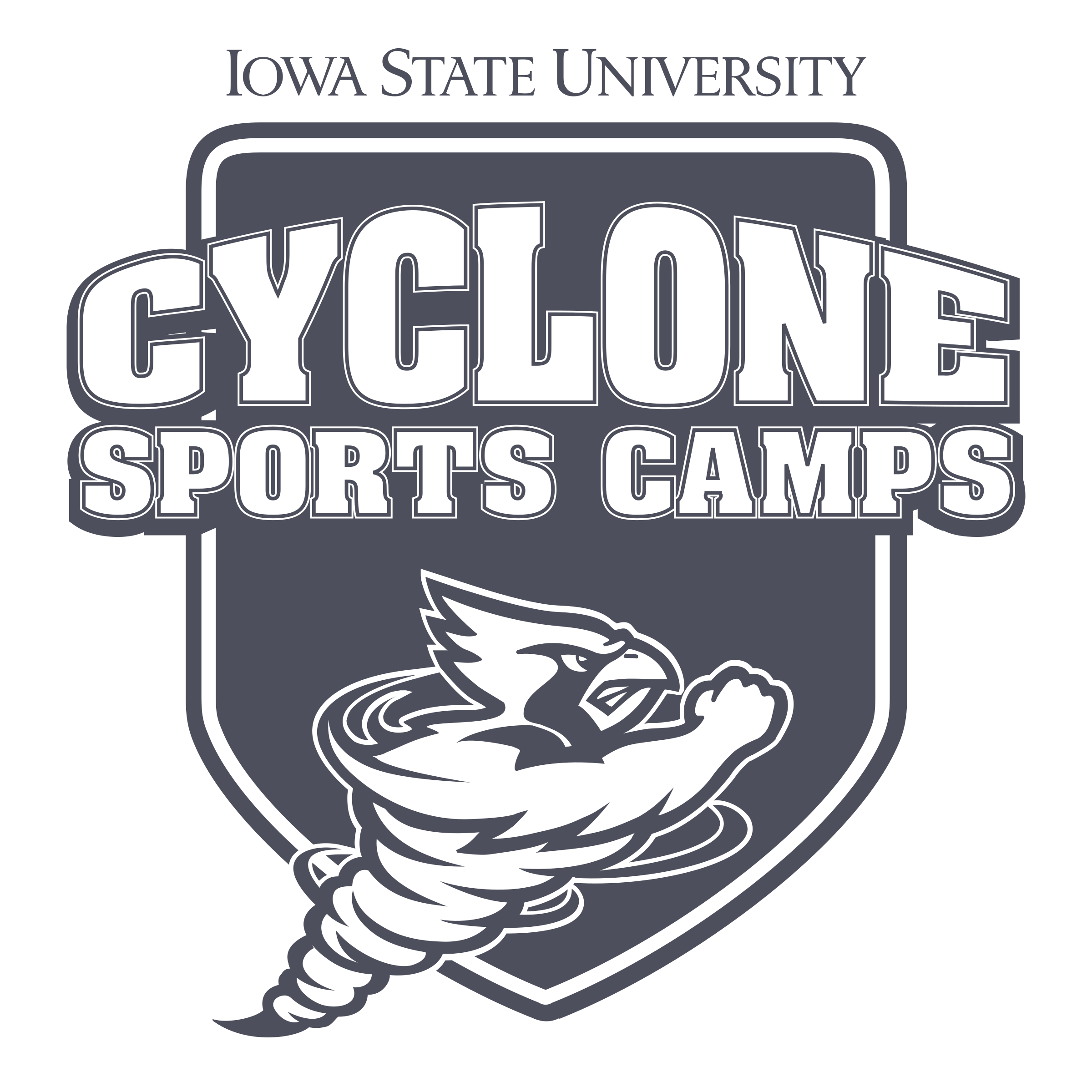Cyclone vector. Sports camps logo png