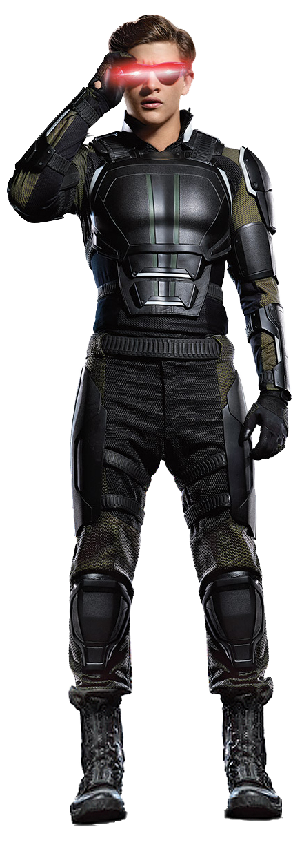 Cyclops x men png. Image transparent background by