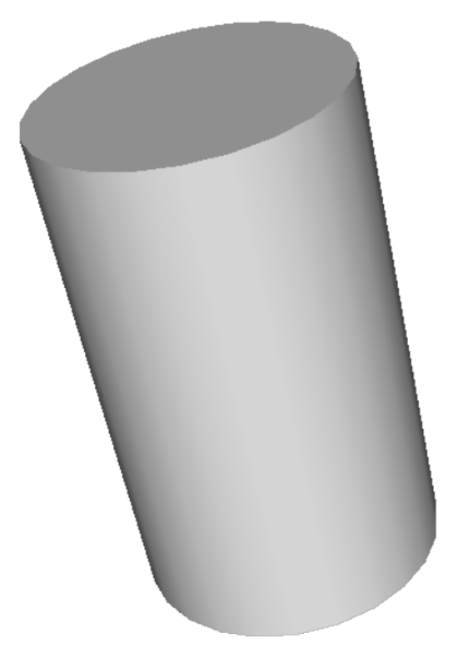 Cylinder shape png. How many faces edges
