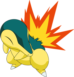 Cyndaquil transparent. Shiny pok dex stats