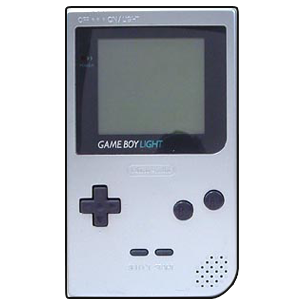 D transparent gameboy. Color digital download romcollector