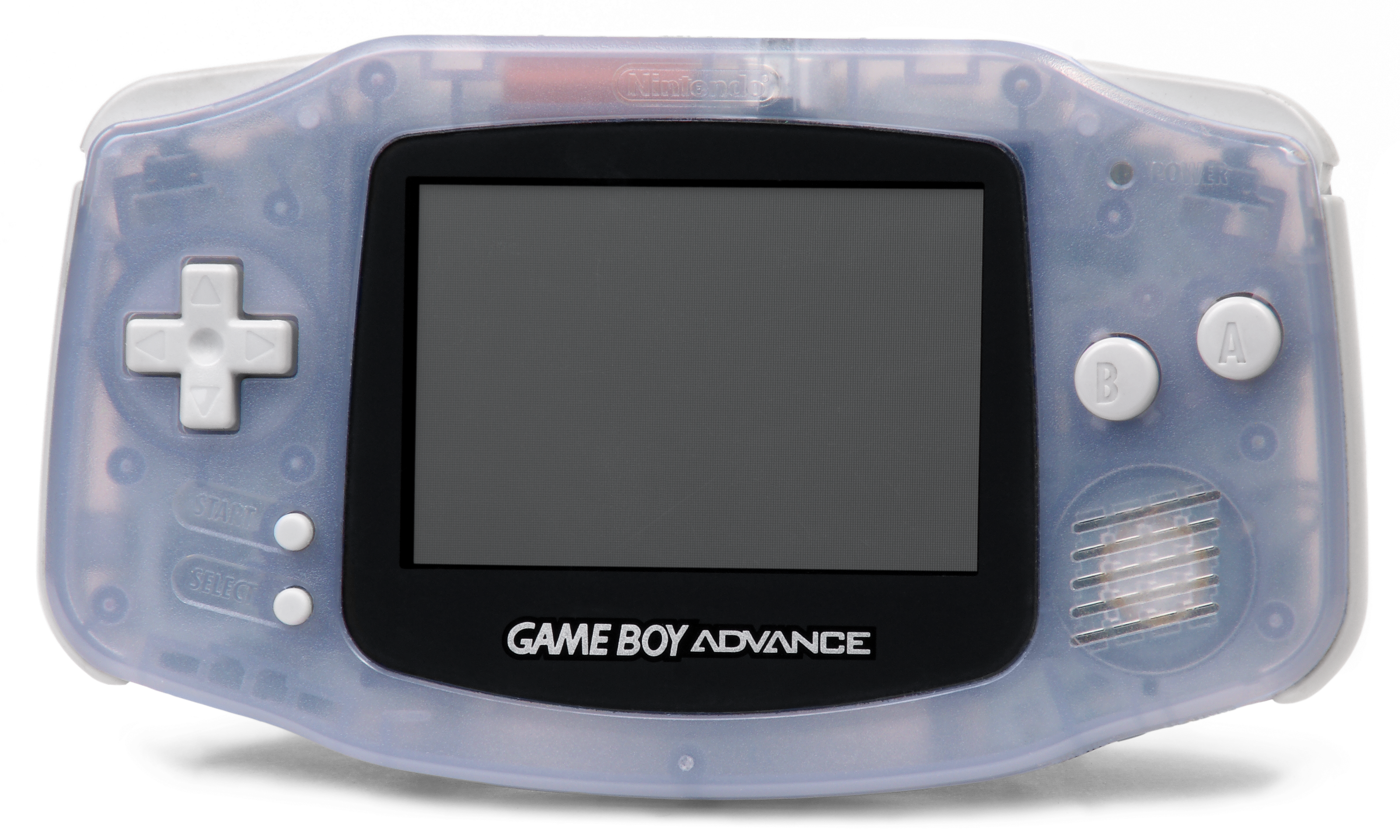 D transparent gameboy. Game boy advance emulator