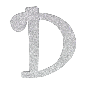 Transparent d glitter. Product tags letter archive