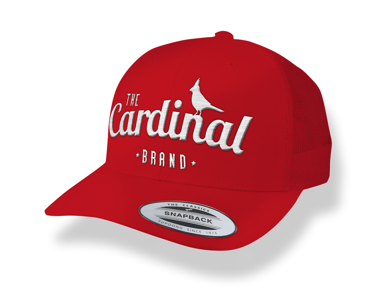 Transparent d limited edition. Classic red six panel