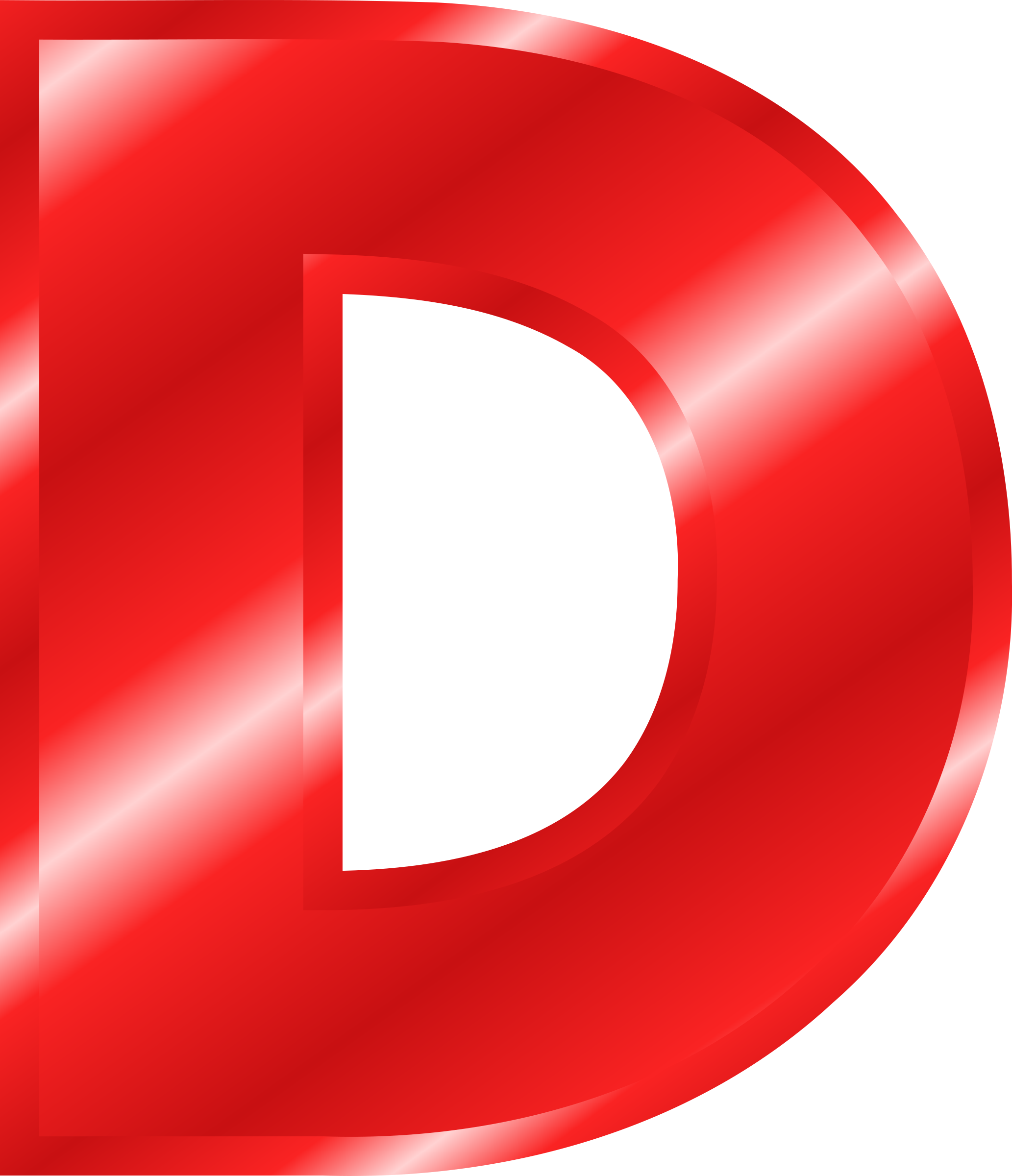 D transparent red. Clipart effect letters alphabet