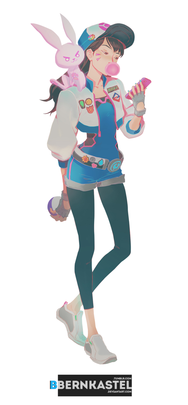 D transparent tumblr. Va ii render by
