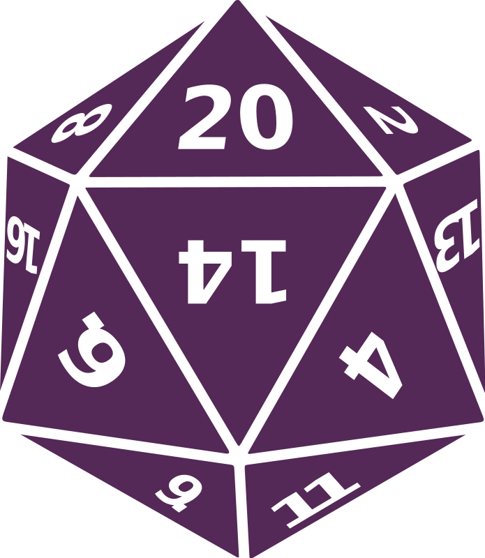 20 sided dice png