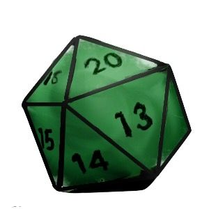 Green d dice pinterest. D20 clipart png library