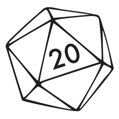 D20 clipart. Sunday is embrace your