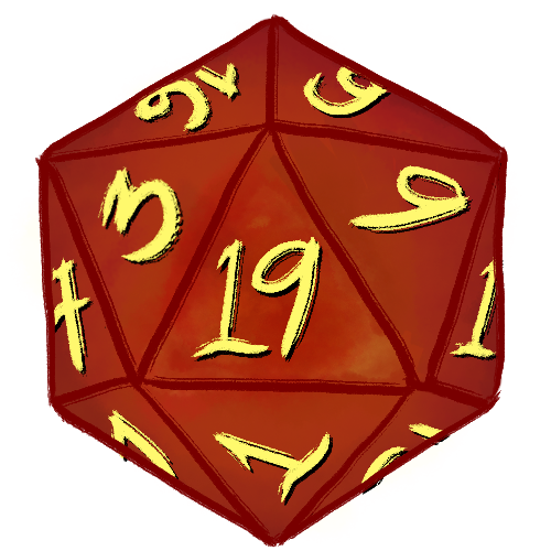 D20 clipart critical. A hit and fumble